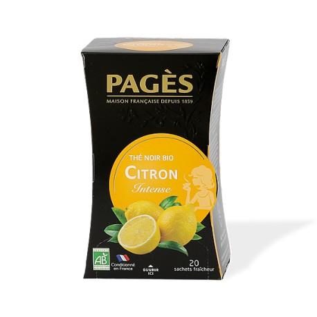 Thé noir Pagès Citron Intense