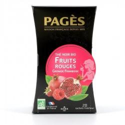Thé noir Fruit Rouge Pagès