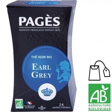 Thé noir Earl Grey Pagès