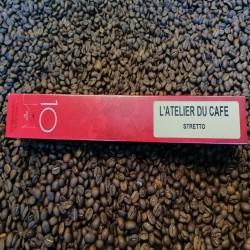 Dosettes compatibles nespresso Stretto (x10)