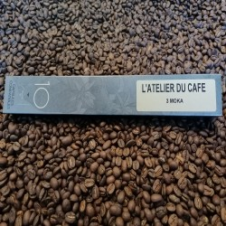 Dosettes compatibles nespresso 3 Mokas (x10)